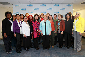 Executive Director Michelle Bachelet led the inaugural meeting of UN Women's Civil Society Global Advisory Group