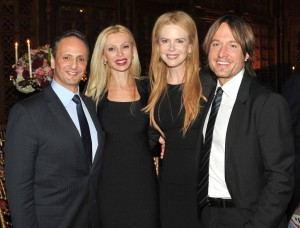 UN Women Goodwill Ambassador Nicole Kidman with husband Keith Urban, Sheikh Salem Al-Sabah, Ambassador of Kuwait to the US and Sheikha Rima Al-Sabah at the Annual Gala of the Kuwait-America Foundation on 11 March 2012. (Vicky Pombo Photography)