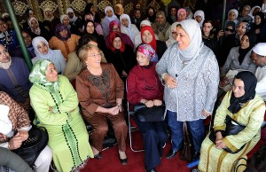 UN Women Executive Director Michelle Bachelet visits Soulaylate women in Morocco