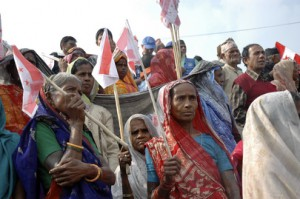 Nepalese Attend Political Rally