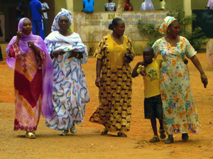 senegalese women voters