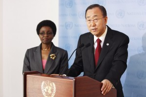 Ban Ki-moon announces appointment of Michelle Bachelet as head of UN Women.