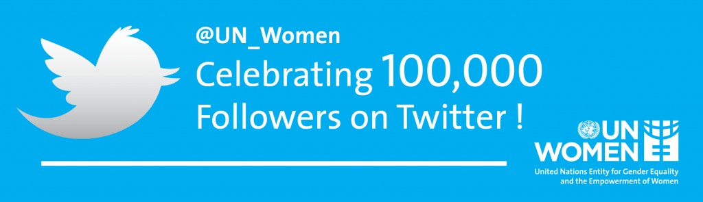 Follow @UN_Women on Twitter