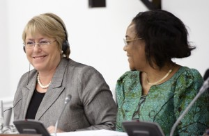 Bachelet Speaks to the Executive Board, 24 January 2011