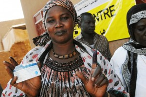 Close to Capital Khartoum, South Sudanese Vote in Historic Referendum